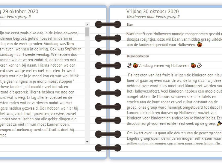 Het digitale dagboek